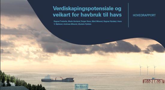 Rapport Verdiskapingspotensiale for havbruk til havs