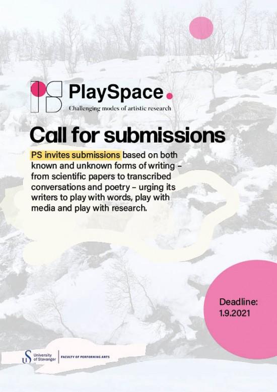 Fakultet for utøvende kunstfag; open call; artistic research