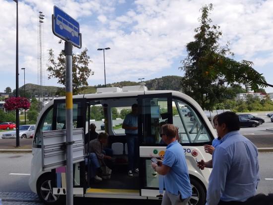Elektrisk minibuss
