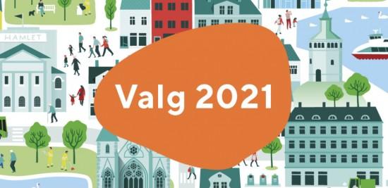 Valg 2021 forhåndstem i Stavanger
