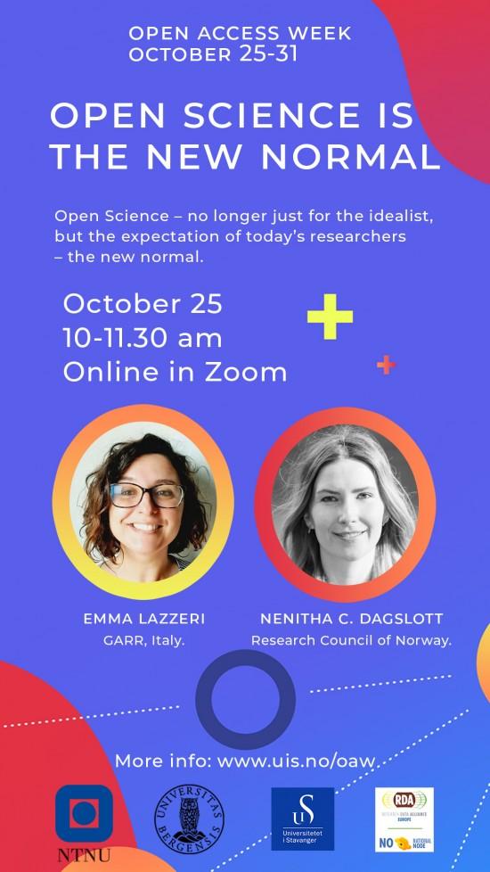 Open Access Week 2021 poster