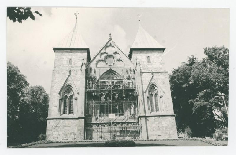Gammelt bilde av Stavanger domkirke