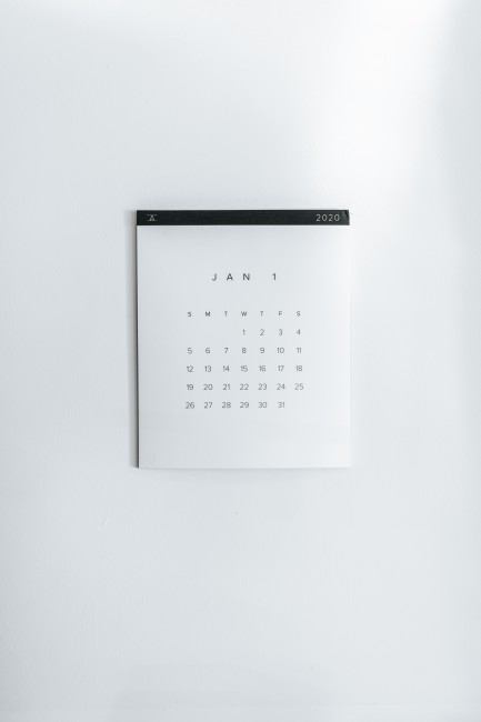 Calendar - Photo by Nathan Dumlao