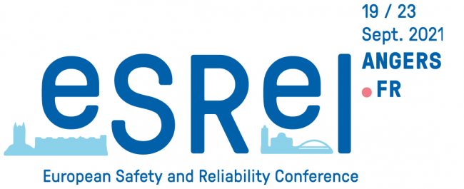 The 31st European Safety and Reliability Conference (ESREL 2021) will be held in Angers, France on 19-23 September 2021.